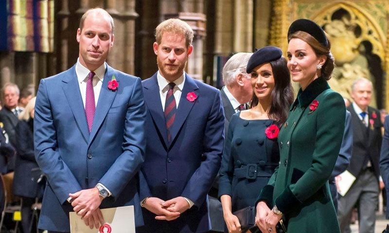 شہزادہ ہیری نے اکتوبر 2019 میں بھائی سے اختلافات کا اعتراف کیا تھا—فائل فوٹو: اے ایف پی