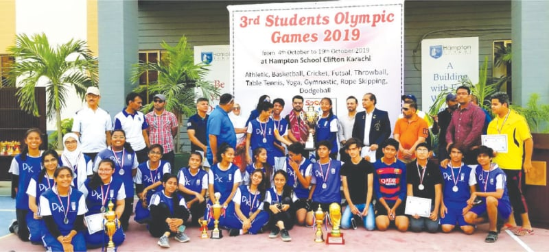 City School DK Campus lifts trophy at Students Games