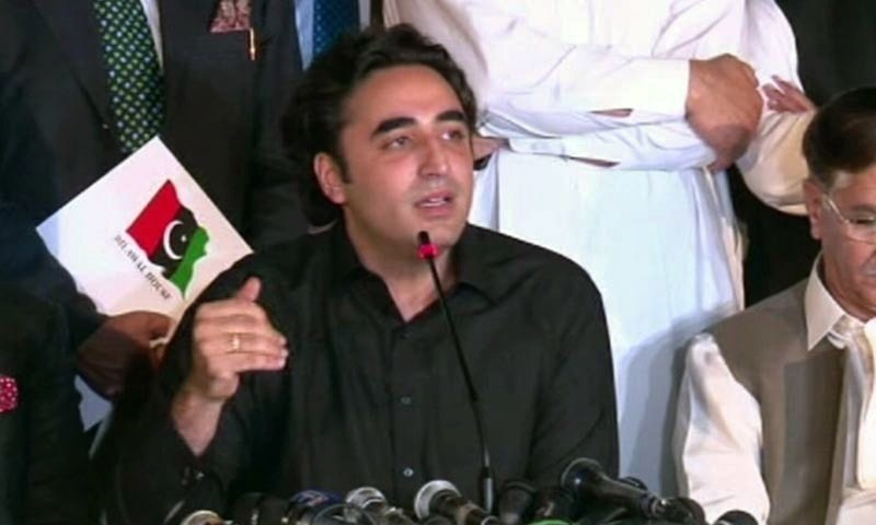 Reiterating his party's full support for the Jamiat Ulema-i-Islam-F's 'Azadi March', Pakistan Peoples Party (PPP) chairman Bilawal Bhutto-Zardari on Tuesday said the government itself was doing the opposition's job of locking down Islamabad.  — DawnNewsTV/File