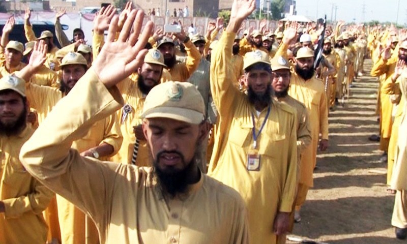 JUI-F's guidelines to marchers indicate plans for long sit-in