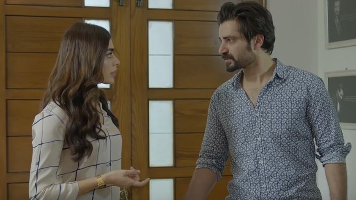 Sadaf Kanwal is a treat to watch as Momin's girlfriend.