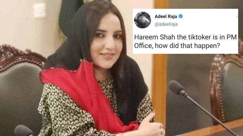TikTok star Hareem Shah filming inside Foreign Office sparks backlash