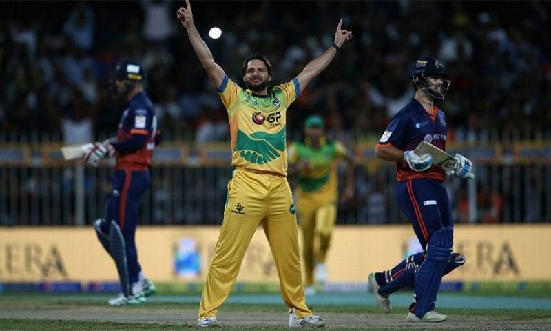 ٹی10 لیگ میں پاکستانی کھلاڑیوں کی شرکت پر پابندی