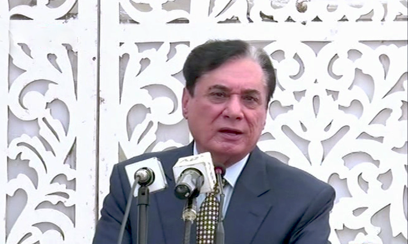 National Accountability Bureau Chairman (retd) Justice Javed Iqbal. — DawnNewsTV/File
