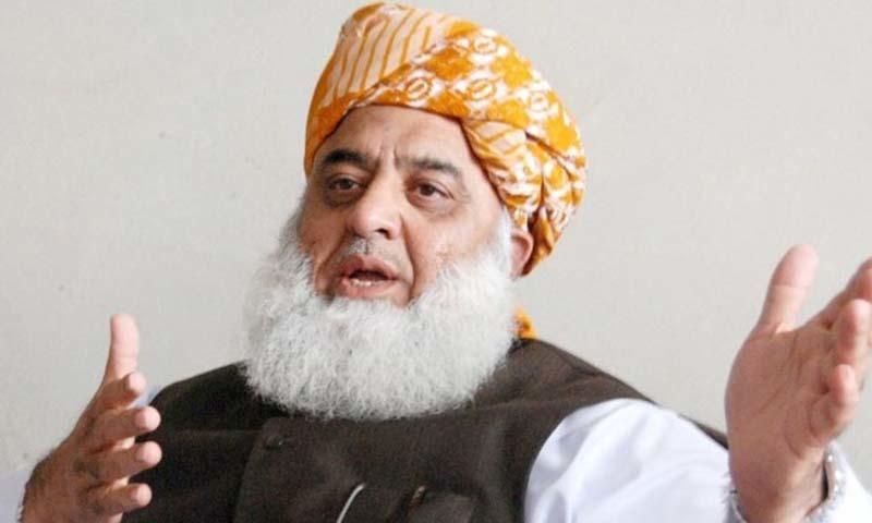 مولانا فضل الرحمٰن کا کہنا ہے کہ جمعیت علما اسلام (ف) ملک کو بیرونی اثرات سے پاک کرنا چاہتی ہے — فائل فوٹو/آئی این پی