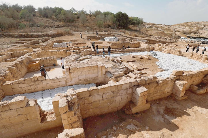 Beit Shemesh New Construction: Sixth-century Byzantine Era Church Uncovered In Israel