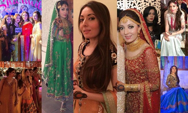 شرمیلا فاروقی کی شادی کی تقریبات — فوٹو/ ٹوئٹر