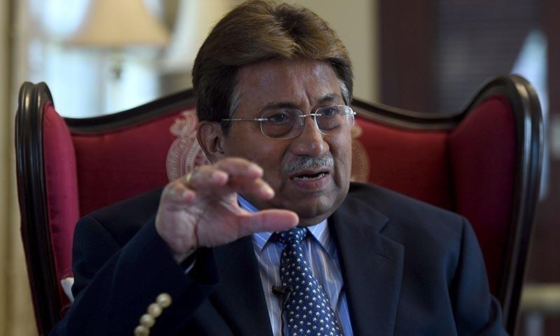 The hearing of the high treason case against former president retired Gen Pervez Musharraf  will resume on November 19. — AFP/File