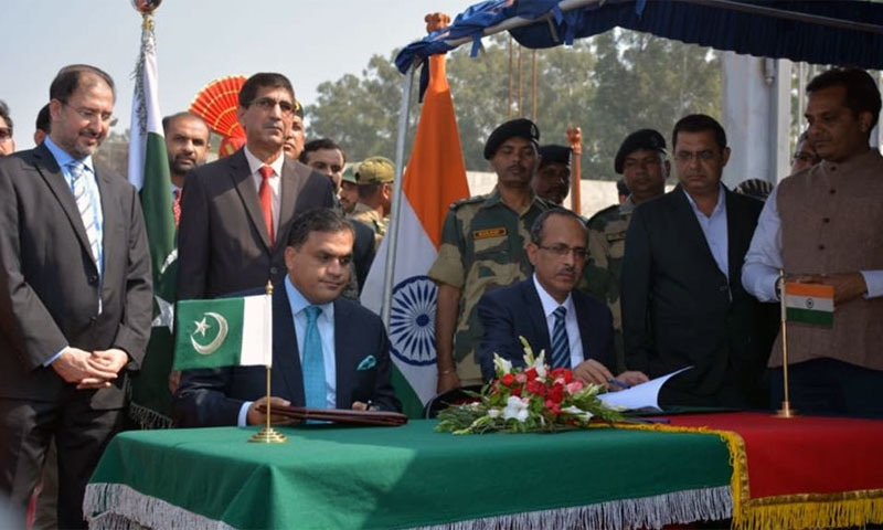 Pakistan, India sign agreement on Kartarpur Corridor