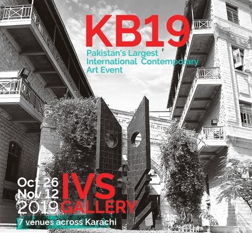 An official poster of Karachi Biennale 2019
