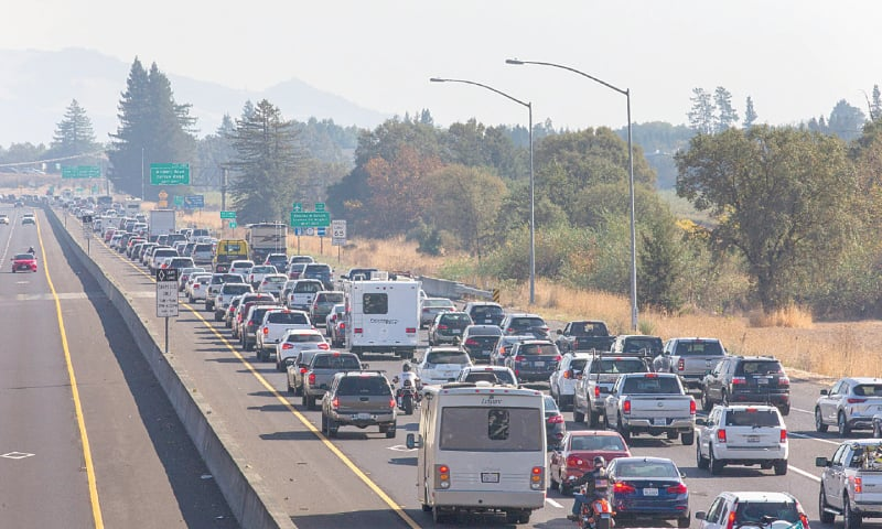 Image result for evacuation california