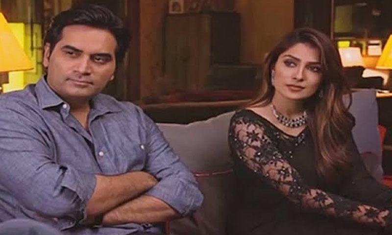 ڈرامے میں عائزہ اور ہمایوں نے میاں بیوی کا کردار نبھایا — فوٹو/ اسکرین شاٹ