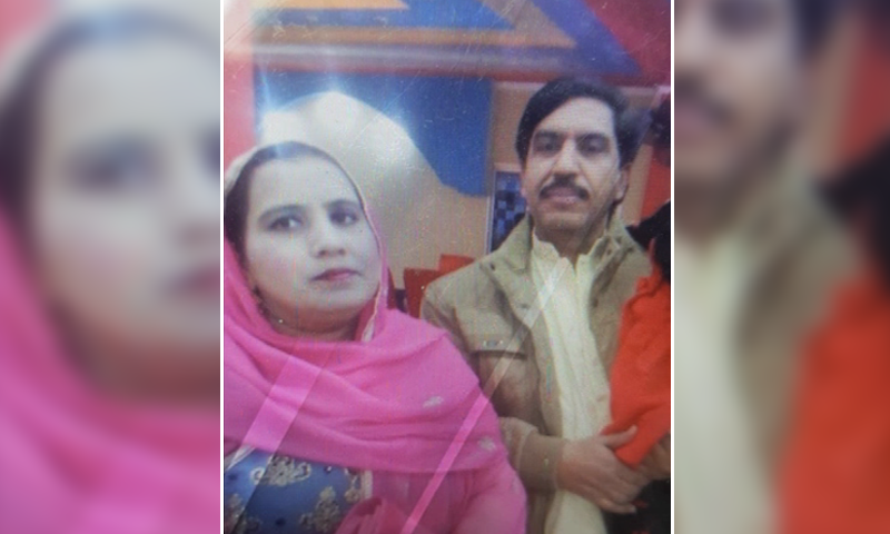 Mohammad Khalil, his wife and their three children were travelling in a car with their neighbour Zeeshan (not pictured) when CTD personnel stopped the vehicle and opened fire on them. — DawnNewsTV/File