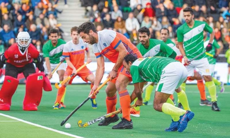 پاکستان کو میچ میں نیدرلینڈ کے ہاتھوں 1-6 سے شکست ہوئی— فوٹو بشکریہ انٹرنیشنل ہاکی فیڈریشن