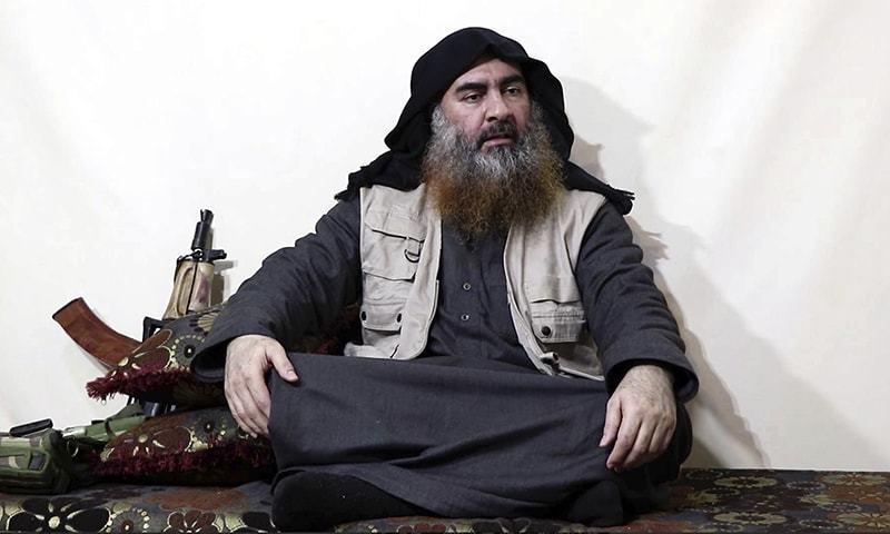 Militant Islamic State group chief Abu Bakr al-Baghdadi died after detonating a vest in Syria. — AP/File
