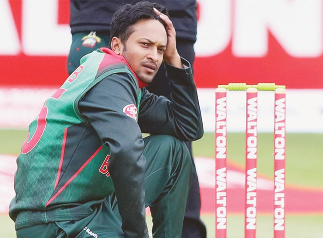 ICC slaps two-year ban on Shakib for breaching anti-corruption code