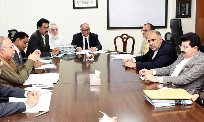 Decision to engage opposition has been taken after NA Speaker Asad Qaiser and Senate Chairman Sadiq Sanjrani's meeting with government's legal team. — Photo provided by Nadir Guramani