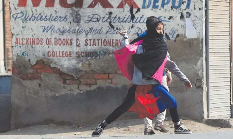اراکین یورپی پارلیمنٹ کے دورے پر مقبوضہ کشمیر میں کشیدگی