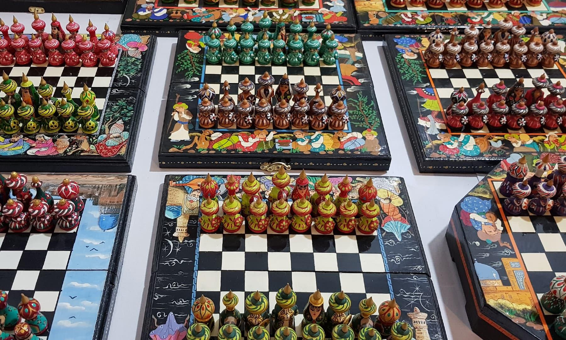 بازار میں دستیاب شطرنج