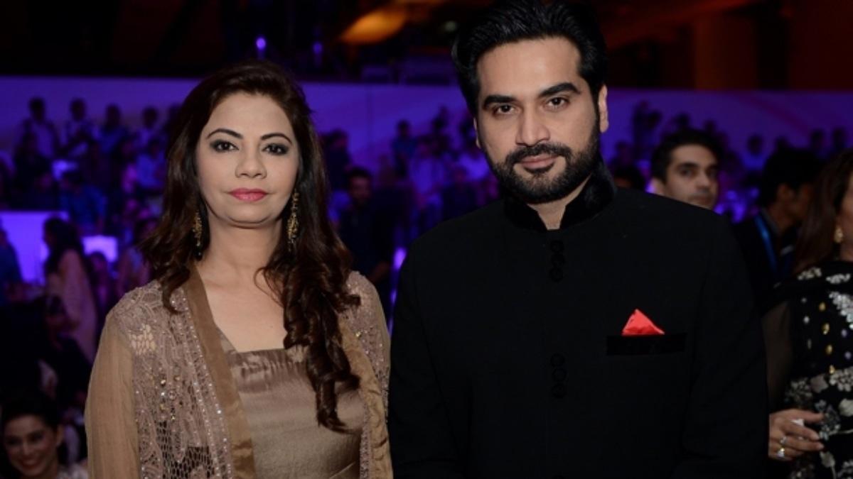 Humayun with his wife, Samina.