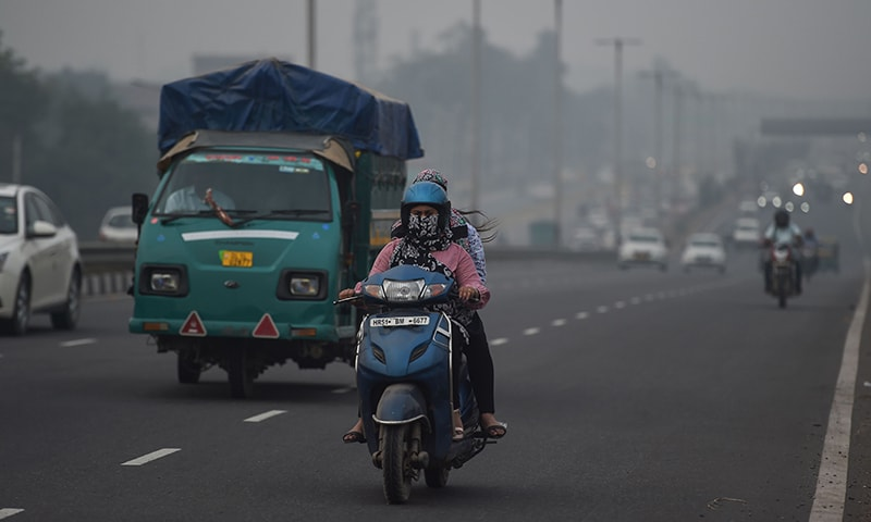 Smog blamed on Indian farmers begins to hit Lahore