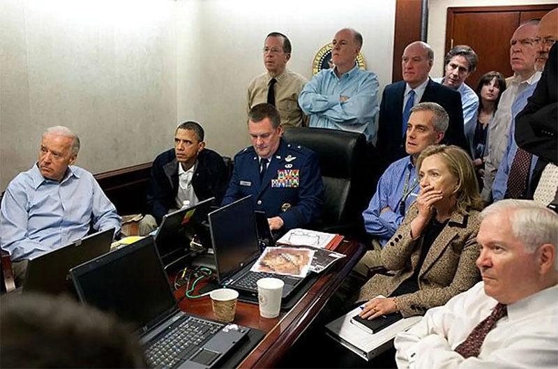 اوباما اور ان کی ٹیم—تصویر وائٹ ہاؤس