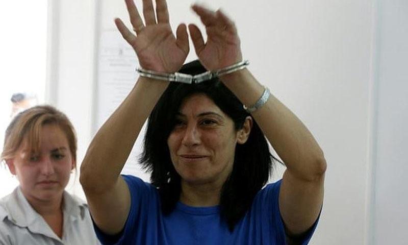 خالدہ جرار فلسطینی پارلیمنٹ کی رکن ہیں — فائل فوٹو/اے ایف پی