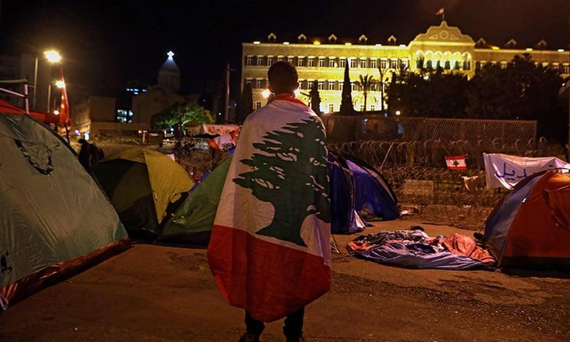 Lebanon sit-ins continue amid deadlock