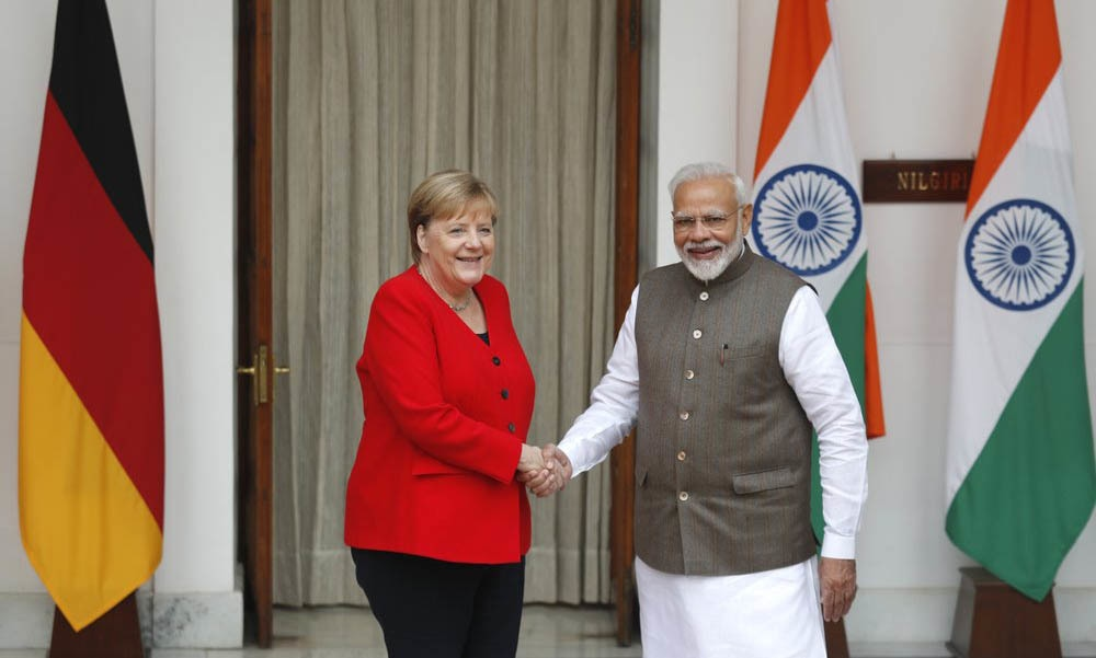Germany to spend €1 bil on green projects in India