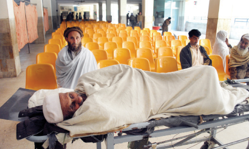 Petitioner says strike has caused suspension of health facilities at the hospitals. — Shahzad Butt/File