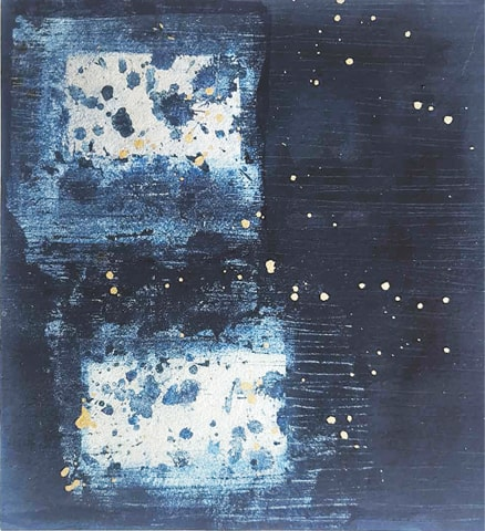The Indigo Sea I (2015), Noorjehan Bilgrami