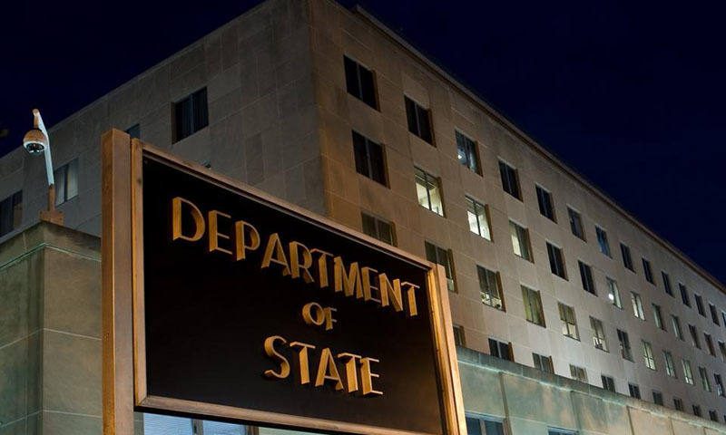 "Pakistan implements international standards to combat money laundering and terror financing and has also criminalised such acts, ""but implementation remains uneven"", claims the US State Department's report on terrorism. — AFP/File"