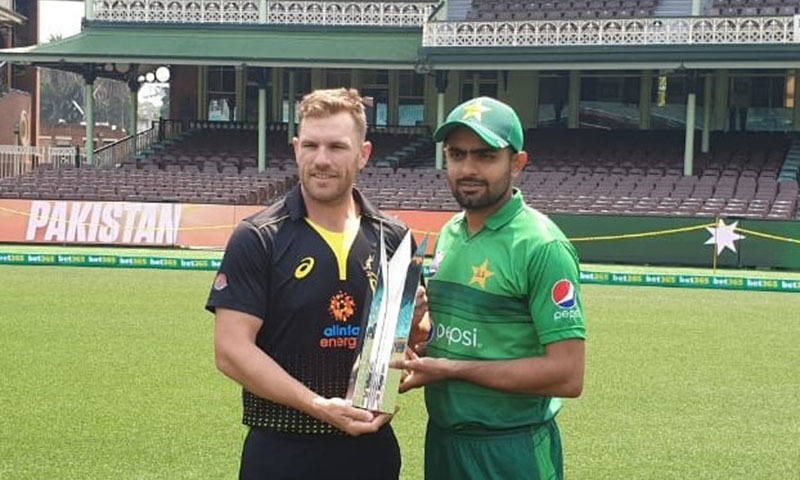 Australia won the toss and chose to bowl in the first of three Twenty20s against top-ranked Pakistan in Sydney on Sunday. — PCB Media Twitter
