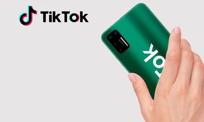 ٹک ٹاک بنانے والی کمپنی نے پہلا فون متعارف کرادیا