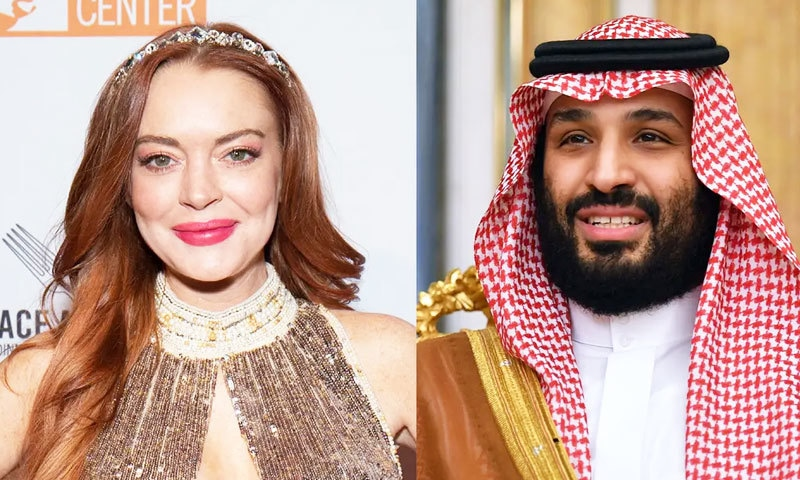 سعودی ولی عہد سے بیٹی کے تعلقات پر لنزے لوہان کے والد نے خاموشی توڑ دی