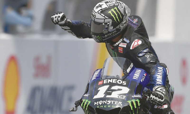 Dominant Vinales wins Malaysian MotoGP ahead of charging Marquez