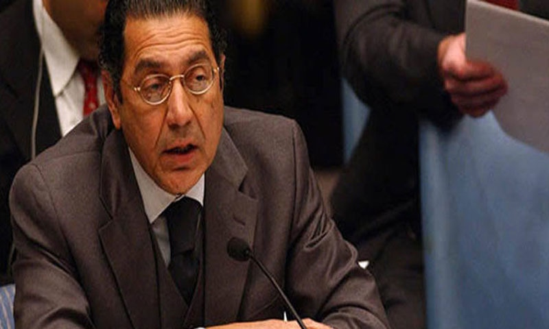 New envoy to UN vows to advance Kashmir cause