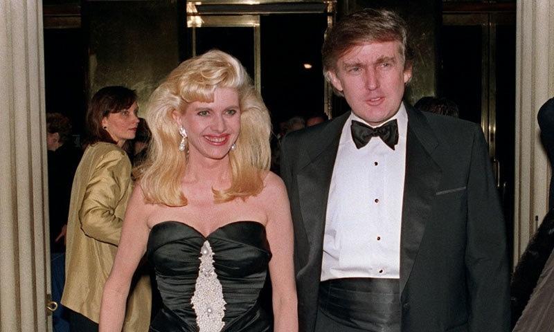 1995 میں ٹرمپ کی عمر 48 سال تھی اور ان کی دوسری شادی تھی