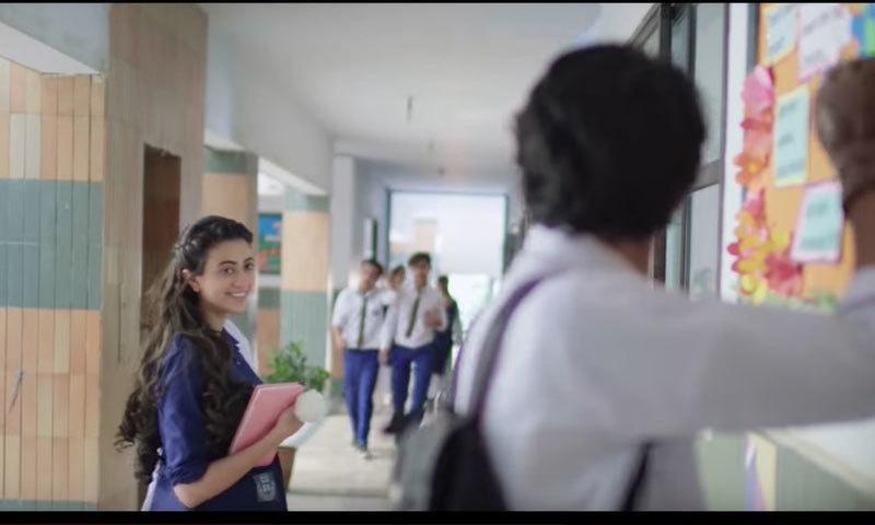 گانے کی شاعری سمیت ویڈیو کو بھی سراہا جا رہا ہے—اسکرین شاٹ
