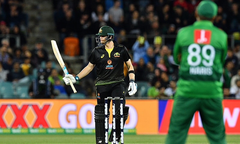 Sublime Smith steers Australia to comfortable win over Pakistan in second T20