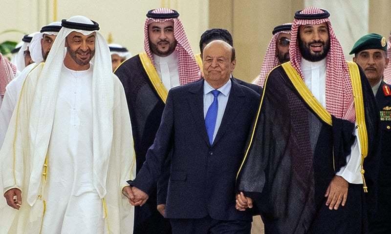 سعودی ولی عہد شہزادہ محمد بن سلمان نے معاہدے کا اعلان کیا — فوٹو: اے ایف پی