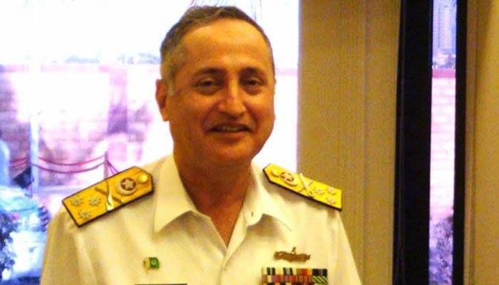 Chief of the Naval Staff Admiral Zafar Mahmood Abbasi witnessed the exercise as the chief guest. The admiral expressed his utmost satisfaction on the operational readiness of Pakistan Navy. — photo courtesy: Combined Maritime Force/File