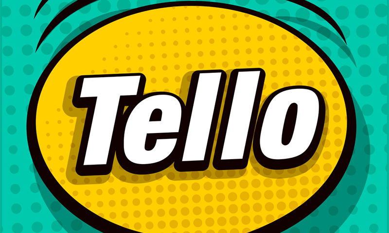 TelloTalk provides users with a regional language keyboard and localised stickers. — TelloTalk