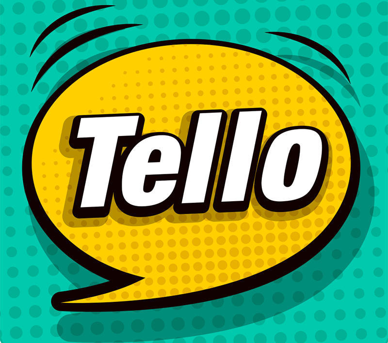 The TelloTalk logo.