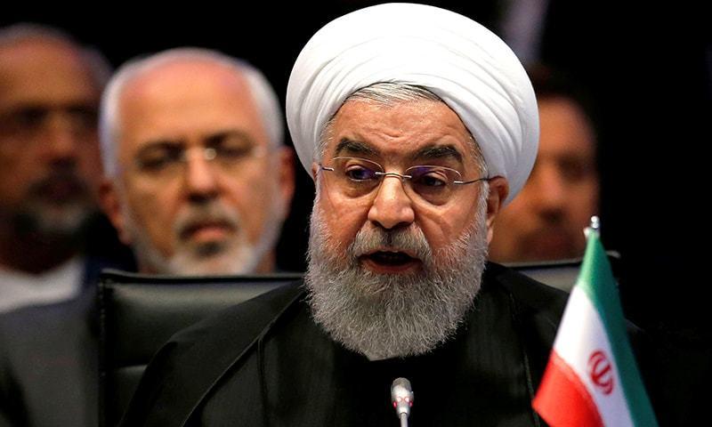ایرانی صدر حسن روحانی نے ٹویٹر میں فیصلے کا اعلان کیا—فائل/فوٹو:رائٹرز