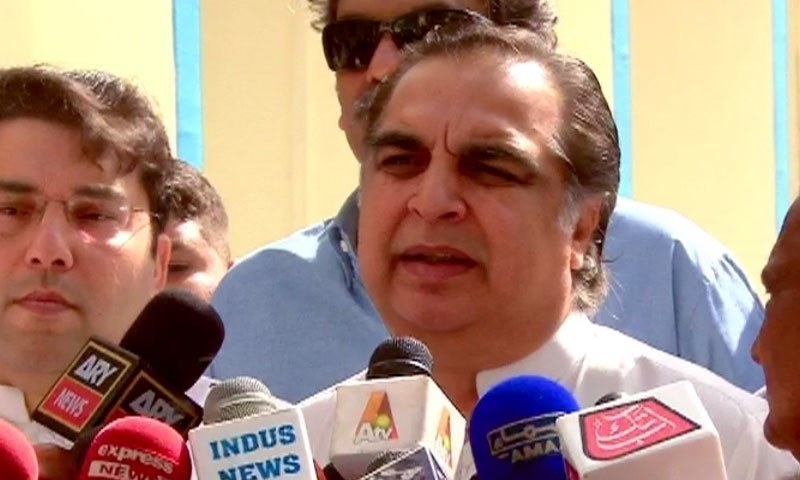 Pakistan Peoples Party urged the chief election commissioner on Wednesday to take action against Sindh Governor Imran Ismail for his visit to a village in Dadu two days before by-election for PS-86. — DawnNewsTV/File