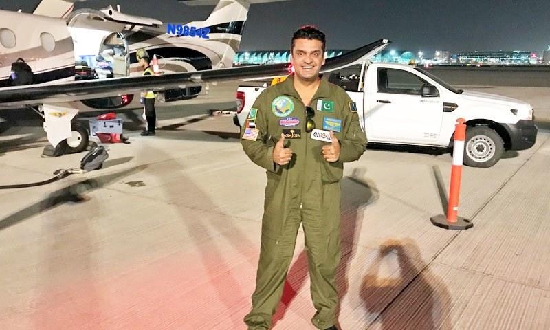 فخر عالم نے مشن پرواز گزشتہ سال مکمل کیا تھا — فوٹو/ فیس بک