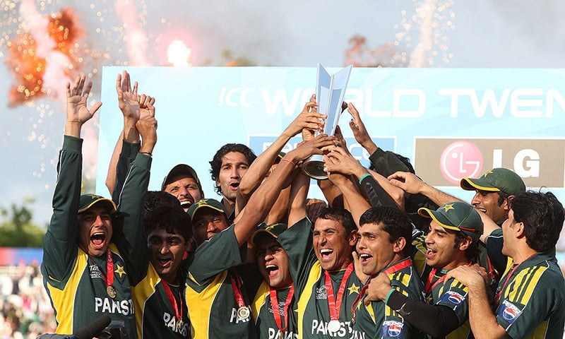 دوسرے ٹی20 ورلڈ کپ کی فاتح قومی ٹیم