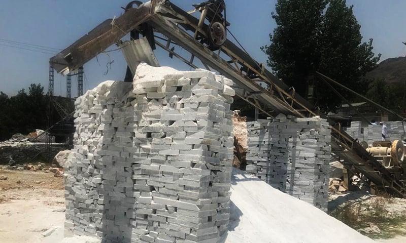 بونیر میں ماربل کا کارخانہ—فراز احمد خان