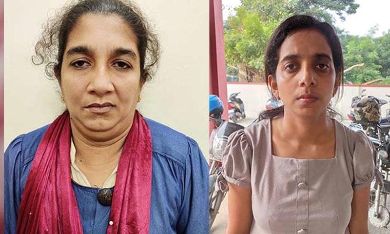 دونوں خواتین سری لنکا سے بھارت پہنچی تھیں—فوٹو: ڈی ٹی نیکسٹ